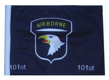101st AIRBORNE 11in x15 Replacement Flag for Motorcycle, Golf Cart and Car flag poles