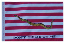 First Navy Jack 11in x15 Replacement Flag for Motorcycle, Golf Cart and Car flag poles