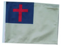 Christian 11in x15 Replacement Flag for Motorcycle, Golf Cart and Car flag poles