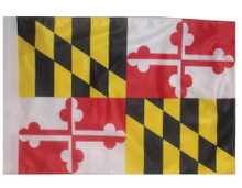 STATE of MARYLAND 11in x15 Replacement Flag for Motorcycle, Golf Cart and Car flag poles