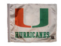 MIAMI HURRICANES Flag with 11in.x15in. Flag Variety