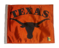 TEXAS LONGHORNS BLACK LOGO Flag with 11in.x15in. Flag Variety