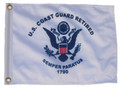 RETIRED COAST GUARD 11in X 15in Flag with GROMMETS