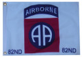 82 AIRBORNE 11in X 15in Flag with GROMMETS