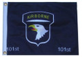 101 AIRBORNE 11in X 15in Flag with GROMMETS