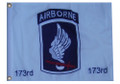 173 AIRBORNE 11in X 15in Flag with GROMMETS
