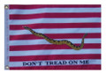 FIRST NAVY JACK 11in X 15in Flag with GROMMETS