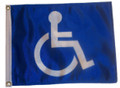 HANDICAP 11in X 15in Flag with GROMMETS