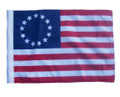 SSP Flags Betsy Ross Motorcycle Flag with Sissybar Pole or Trunk Pole