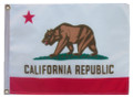 STATE of CALIFORNIA 11in X 15in Flag with GROMMETS