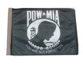 SSP Flags POW MIA Motorcycle Flag with Sissybar Pole or Trunk Pole
