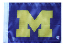 MICHIGAN WOLVERINES Flag with 11in.x15in. Flag Variety