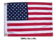 USA, United States, American, FLAG - SMALL 6in.x9in.