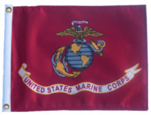 Marine Corps SMALL 6in.x9in. Flag - with GROMMETS