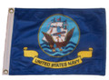 NAVY Small 6in X 9in Flag with GROMMETS