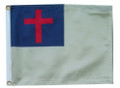 CHRISTIAN Small 6in X 9in Flag with GROMMETS