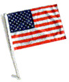 USA, UNITED STATES, AMERICAN, Flag with Car Flag Pole