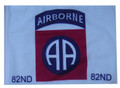 SSP Flags 82nd Airborne Motorcycle Flag with Sissybar Pole or Trunk Pole