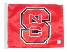 NORTH CAROLINA STATE UNIVERSITY Flag with 11in.x15in. Flag Variety