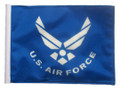 LICENSED AIR FORCE 11in x15 Replacement Flag for Motorcycle, Golf Cart and Car flag poles