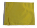 YELLOW 11in x15 Replacement Flag for Motorcycle, Golf Cart and Car flag poles