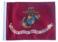 LICENSED US MARINE CORPS 6in. x 9in. Small Flag