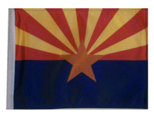 ARIZONA 11in x15 Replacement Flag for Motorcycle, Golf Cart and Car flag poles