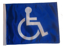 HANDICAP 6in X 9in Small Specialty Flags