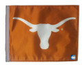 TEXAS LONGHORNS WHITE LOGO Flag with 11in.x15in. Flag Variety