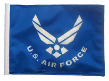 SSP Flags US Air Force Motorcycle Flag with Sissybar Pole or Trunk Pole