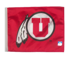 UNIVERSITY OF UTAH Flag with 11in.x15in. Flag Variety