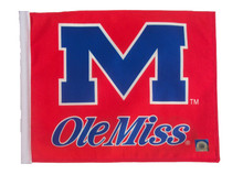 OLE MISS Flag with 11in.x15in. Flag Variety