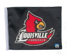 LOUISVILLE CARDINALS Flag with 11in.x15in. Flag Variety