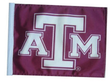 Texas A and M Flag with 11in.x15in. Flag Variety