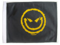 MEAN SMILEY 11x15 Flag