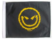 MEAN SMILEY 11x15 Flag