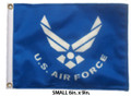 U.S. AIR FORCE Small 6in X 9in Flag with GROMMETS