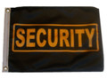 SECURITY 11in X 15in Flag with GROMMETS
