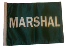 MARSHAL 11in x15 Replacement Flag for Motorcycle, Golf Cart and Car flag poles