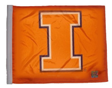 UNIVERSITY of ILLINOIS Flag with 11in.x15in. Flag Variety