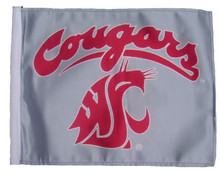 WASHINGTON COUGARS Flag with 11in.x15in. Flag Variety