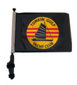 SSP Flags TONKIN GULF YACHT CLUB Golf Cart Flag with SSP Flags Bracket and Pole