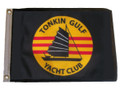 TONKIN GULF YACHT CLUB 11in X 15in Flag with GROMMETS