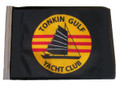 SSP Flags TONKIN GULF YACHT CLUB Motorcycle Flag with Sissybar Pole or Trunk Pole
