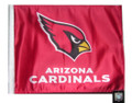 ARIZONA CARDINALS Flag with 11in.x15in. Flag Variety