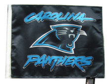 CAROLINA PANTHERS Flag with 11in.x15in. Flag Variety