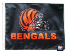 CINCINNATI BENGALS Flag with 11in.x15in. Flag Variety