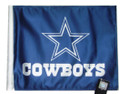 DALLAS COWBOYS Flag with 11in.x15in. Flag Variety