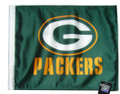 GREEN BAY PACKERS Flag with 11in.x15in. Flag Variety