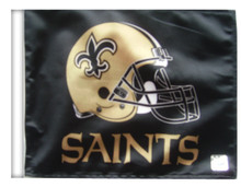 NEW ORLEANS SAINTS Flag with 11in.x15in. Flag Variety